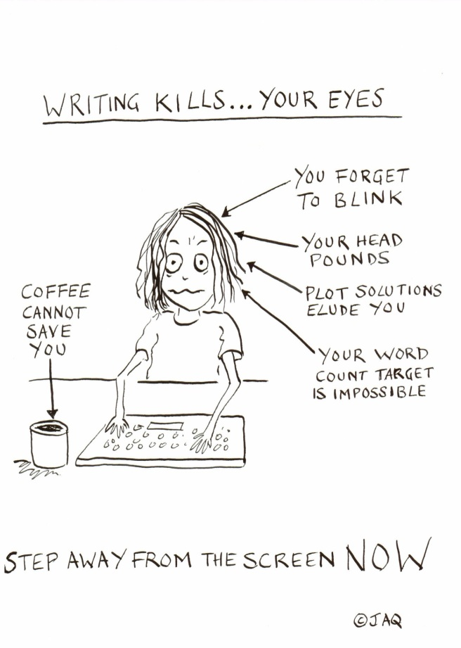 cartoon-WritingKills