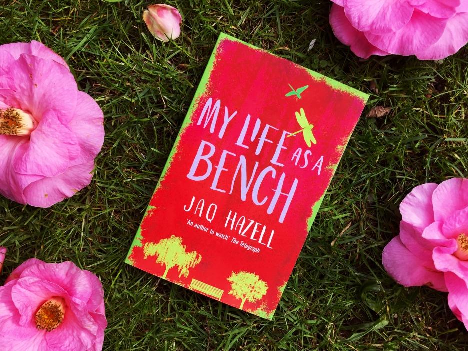 Bench+grass+flowers